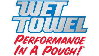 Wet Towel Performance in a Pouch